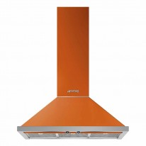 Smeg Portofino Wandhaube in orange KPF9OR